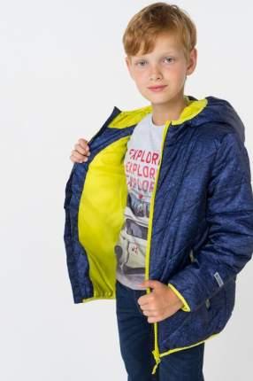 Куртка для мальчика PlayToday, цв.синий, р-р 122