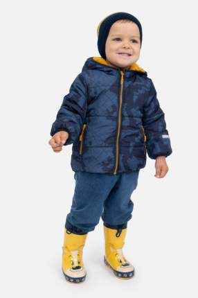Куртка для мальчика PlayToday, цв.синий, р-р 86
