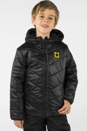Куртка для мальчика PlayToday, цв.чeрный, р-р 110