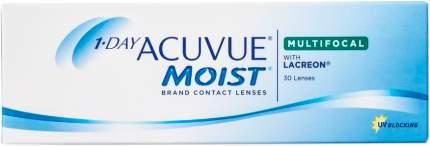 Контактные линзы 1-Day Acuvue Moist Multifocal 30 шт. Medium от +1,25 до +2,00 R 8,4 +4,25