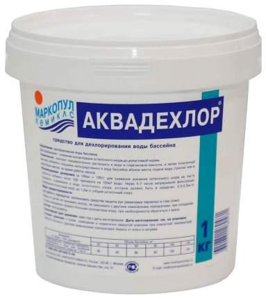 Средство для дехлорирования воды АКВАДЕХЛОР  М02 в гранулах, ведро 1 кг
