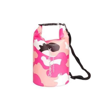 Спортивная сумка Nuobi Camouflage Ocean Pack 5 розовая