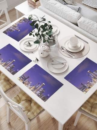 Комплект салфеток для сервировки стола «Ночные развлечения» (32х46 см, 4 шт.)