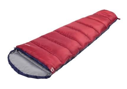 Спальный мешок Jungle Camp Active 300 XL, широкий, левая молния, цвет: синий, красный