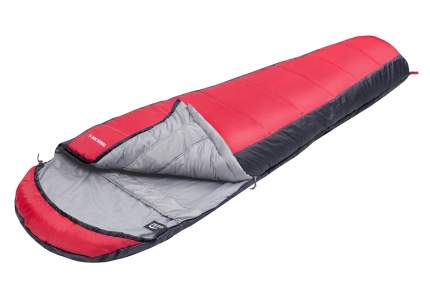 Спальный мешок Jungle Camp Track 300 XL серый/красный, левый