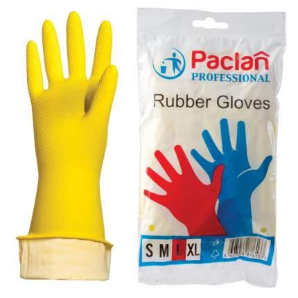Перчатки резиновые M Professional Paclan