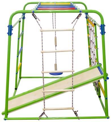 Детский спортивный комплекс Start baby 1, цвет салатовый/радуга Формула здоровья