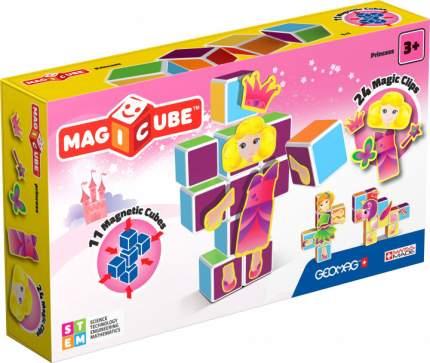 Конструктор магнитный Magicube. Принцессы 35 деталей