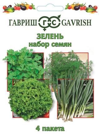 """Набор семян """"Зелень"""" 4 пакета"""
