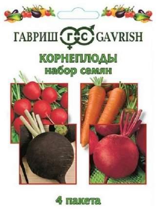 """Набор семян """"Корнеплоды"""" 4 пакета"""