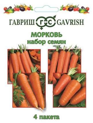 """Набор семян """"Морковь"""", 4 пакета"""