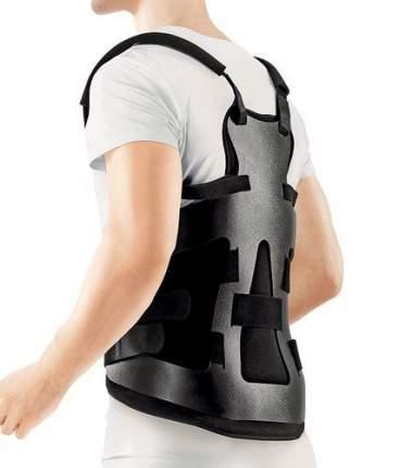 Ортопедический корсет LSO-991 с пластиковой рамой цвет черный