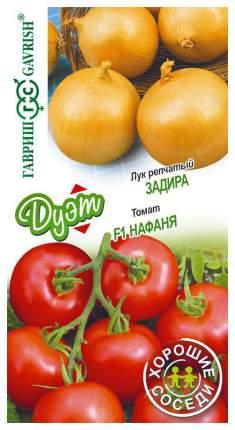 """Семена. Лук репчатый """"Задира"""" (вес: 0,5 г) + томат """"Нафаня"""" (вес: 0,1 г)"""