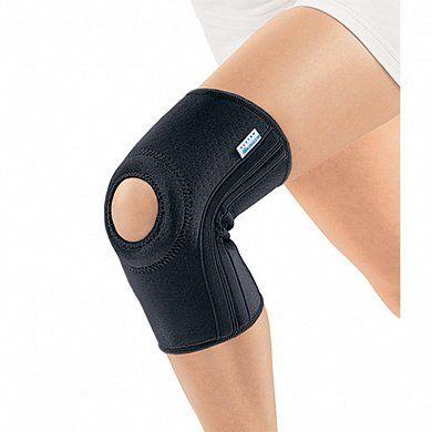 Согревающий бандаж на коленный сустав с пателлярным кольцом RKN-103(M) Orlett черный р.XL