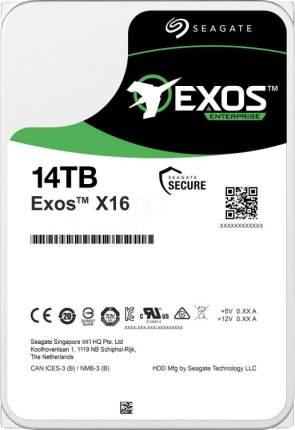 Внутренний HDD диск Seagate Exos X16 14TB (ST14000NM002G)