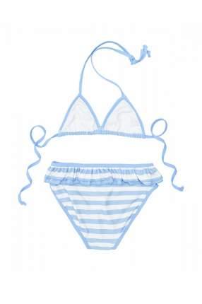 Купальник для девочки Button Blue, цв.белый, р-р 140