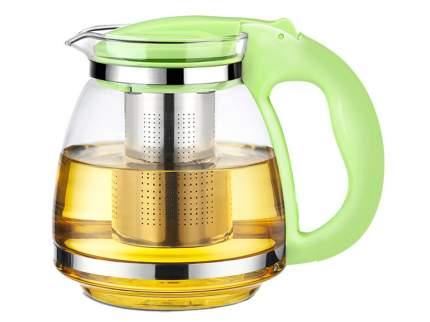 """Чайник """"Сакура"""", с фильтром, 1500 мл (цвет: салатовый)"""