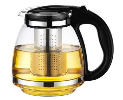 """Чайник """"Сакура"""", с фильтром, 1500 мл (цвет: черный)"""