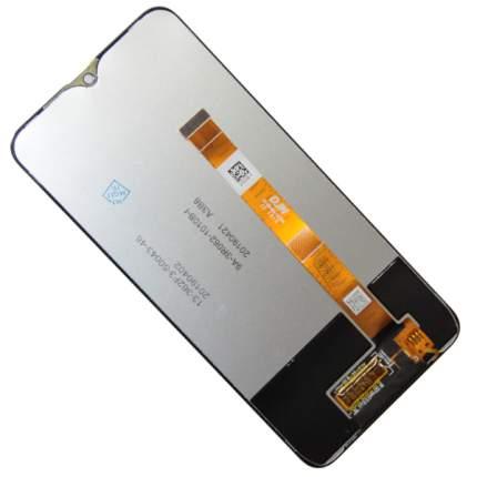 Дисплей для OPPO A5s в сборе с тачскрином <черный> (OEM)
