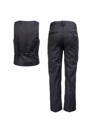 Костюм жилет с брюками для мальчика PlayToday, цв.серый, р-р 128