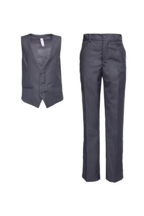 Костюм жилет с брюками для мальчика PlayToday, цв.серый, р-р 152