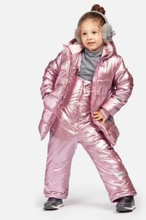 Полукомбинезон утепленный для девочки PlayToday, цв.розовый, р-р 116
