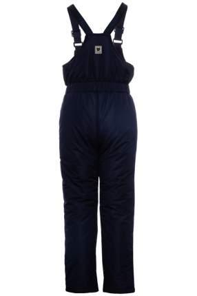 Полукомбинезон утепленный для девочки Button Blue, цв.синий, р-р 110
