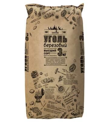 Уголь древесный Sapfire SUS-0403 3 кг