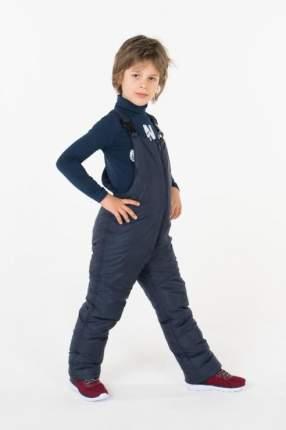 Полукомбинезон утепленный для мальчика Button Blue, цв.синий, р-р 152