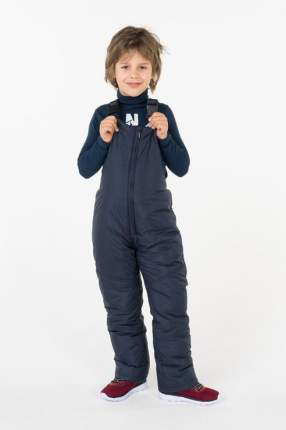 Полукомбинезон утепленный для мальчика Button Blue, цв.синий, р-р 128