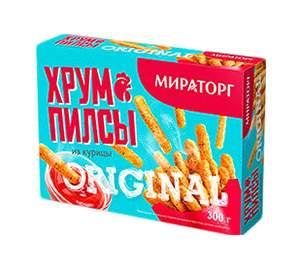 Хрумпилсы куриные Мираторг оригинал замороженное 250 г