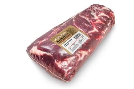 Чак Ролл стейк из мраморной говядины Мираторг охлажденный ~6 кг