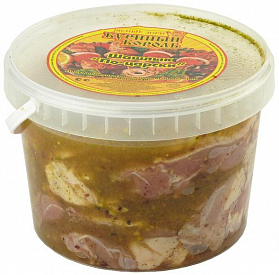 Шашлык из мяса цыпленка-бройлера Куриный король по-царски охлажденный ~1,5 кг