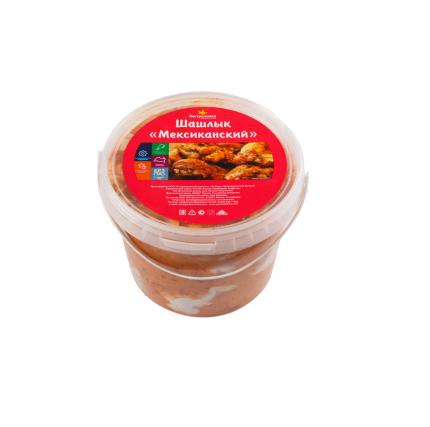 Шашлык куриный Пестречинка Мексиканский охлажденный ~1 кг