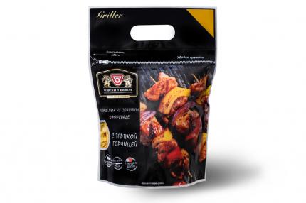Шашлык свиной Омский бекон с терпкой горчицей охлажденный ~1,5 кг