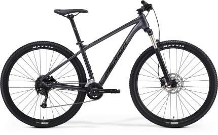 Велосипед Merida Big.Nine 100-3x 2021 L антрацитовый