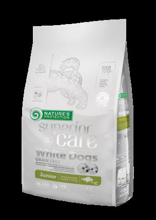 Сухой корм для щенков  Nature's Protection Superior Care,беззерновой,  рыба,  1.5кг