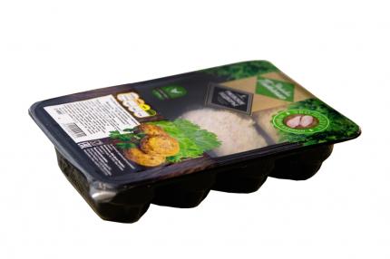 Шницель рубленый куриный Ржевское подворье По-Домашнему с сыром охлажденный 480 г