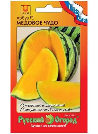 Семена ягод Русский огород 794413 Арбуз Медовое чудо F1 4 шт.