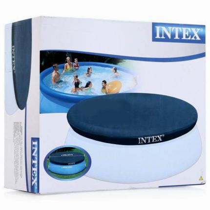 Тент для бассейна Intex Solar Cover 28023 457 х 457 х 0,2 см