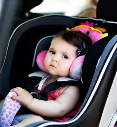 Подушка для путешествий Benbat 1-4 года, Принцесса, розовый