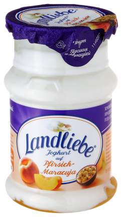 Йогурт Landliebe с персиком и маракуйей 3,2 %, 130 г БЗМЖ