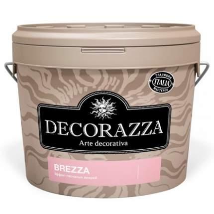 Декоративное покрытие Decorazza Brezza Argento BR-001, песчанные вихри, 5 л