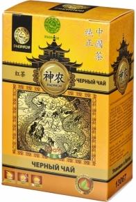 Чай черный Shennun Пуэр листовой 100 г