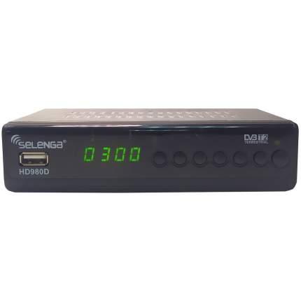 DVB-T2 приставка Selenga HD980D Black