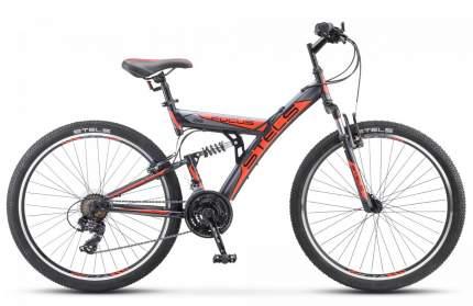 Двухподвесный велосипед STELS Focus V 26 18-sp V030 (2021)(оранжево-черный)