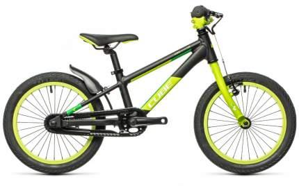 Детский велосипед CUBE Cubie 160 (2021)(черно-зеленый)