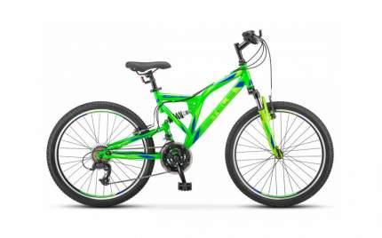 Подростковый велосипед STELS Mustang 24 MD V010 (2021)(неоновый-зеленый)