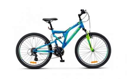 Подростковый велосипед STELS Mustang 24 MD V010 (2021)(неоновый-синий)