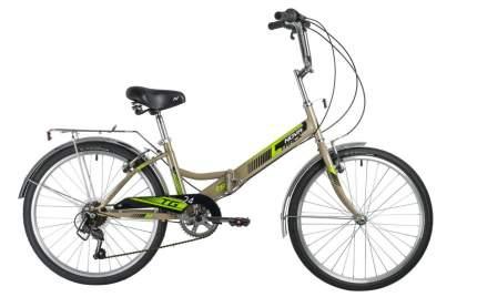 """Складной велосипед NOVATRACK TG 24"""" Classic 3.1 S (2021)(зеленый)"""